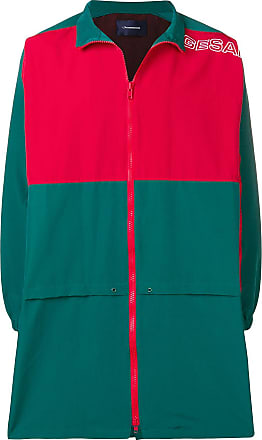 JohnUndercover Jaqueta esportiva color block - Verde