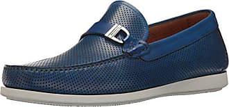 Magnanni Mens Seca Perf Slip-On Loafer, Navy, 11.5 M US