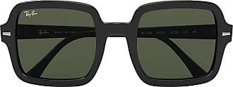 Ray-Ban 0RB2188-901-31-53 Reading Glasses, Black/Green, 53