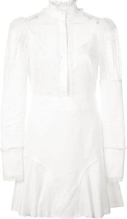 Alexis Vestido com recorte de renda Madilyn - Branco