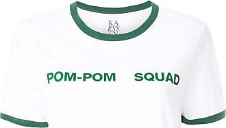 Zoe Karssen Pom-Pom Squad T-Shirt - White