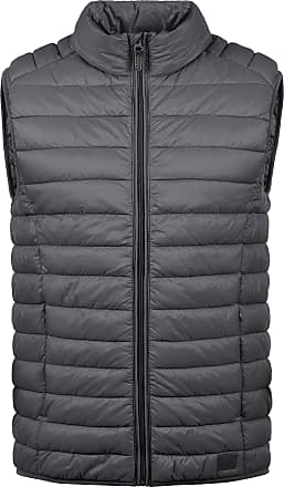 Blend Blend Nille Mens Quilted Vest with Hochabschließendem Collar Made of High Quality Material Quality - Grey - 0-3 Months