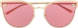 Cartier Óculos de sol gatinho - Rosa