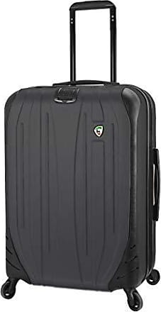 Mia Toro Italy Compaz Hard Side 24 Spinner Luggage BLACK