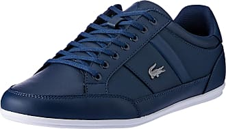 Lacoste Mens Chaymon BL 1 CMA Trainers, Blue NVY Wht 092, 7.5 UK