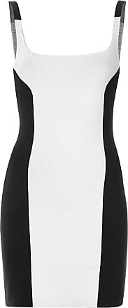 Nagnata Vestido color block - Preto