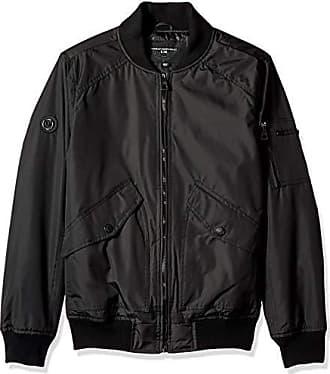 Urban Republic Mens Cloud Ballistic Jacket, Black, L