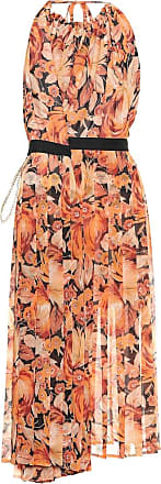 Y / Project Floral chiffon halter dress