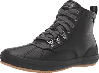 Keds Womens Scout Boot II Matte Twill WX Ankle, Black, 6.5 UK