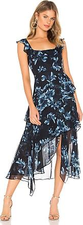 Bcbgmaxazria Midi Cocktail Dress in Navy