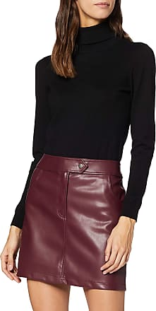 EDC by Esprit Womens 119CC1D005 Skirt, Red (Bordeaux Red 600), 12