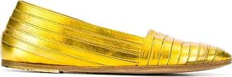 Marsèll Sapato listrado - Amarelo