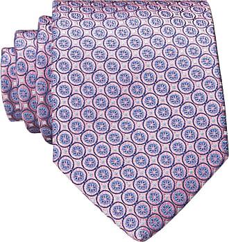 Eton Krawatte - ROSA/ HELLBLAU