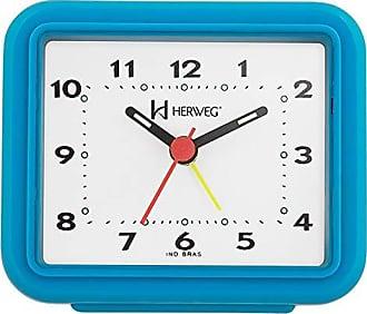 Uhren Herweg Relógio Despertador Herweg Quartz Turqueza 2612-267
