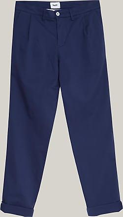 Brava Fabrics Pantalones Chinos Hombre - Pantalones Chinos para Hombre - 100% Algodón Orgánico - Modelo Navy