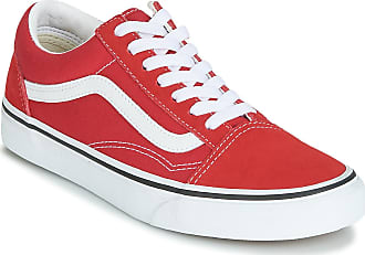 vans chaussures rouge