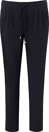 Peter Hahn Ankle-length jogger style trousers, Barbara fit Peter Hahn blue