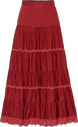 Ulla Johnson Fleet cotton maxi skirt