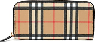 Burberry Ellerby Check leather wallet
