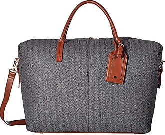 Sole Society Jera Weekender (Grey) Handbags