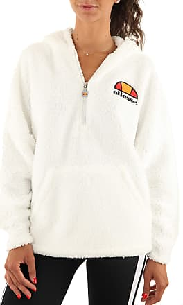 Ellesse Seppy 1/2 Zip Hoodie WNs, Sweatshirt - L White