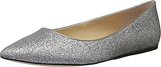 Imagine Vince Camuto Womens Genesa Ballet Flat,Platinum/Pewter,6 Medium US