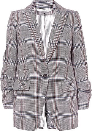 Veronica Beard Elektra Prince Of Wales Checked Cotton-blend Blazer - Black