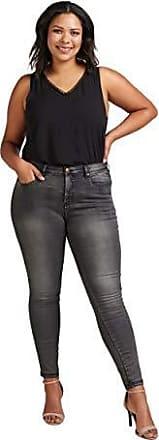 2672a9b509640d Zizzi Amy Damen Jeans Super Slim Jeanshose Stretch Hose Große Größen 42-56