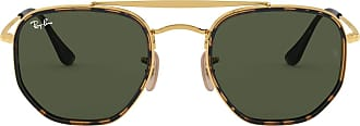Ray-Ban Unisex Adults 0RB3648M Sunglasses, Black (Gold), 52.0