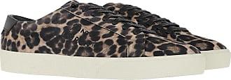 Saint Laurent Sneakers - Court Sneakers Beige/Black - colorful - Sneakers for ladies