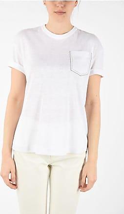 Brunello Cucinelli linen and silk t-shirt Größe M