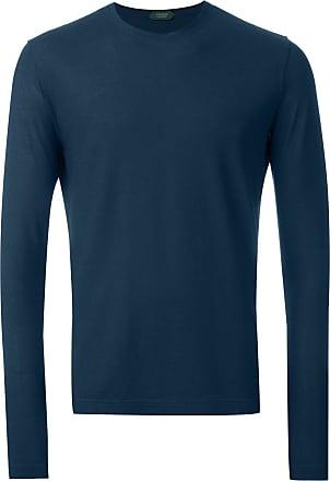 Zanone Camiseta mangas longas - Azul