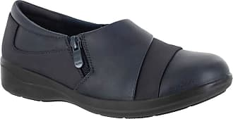 Easy Street Gavyn Womens Slip On 7 B(M) US Navy