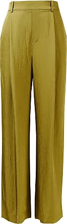 Vince Stoffhose mit elastischem Bund Khaki