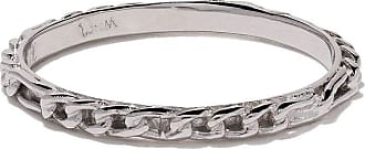 Wouters & Hendrix 18kt white gold Figaro Chain ring