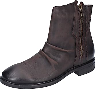 Inuovo Women Leather Brown Boots 3.5 UK