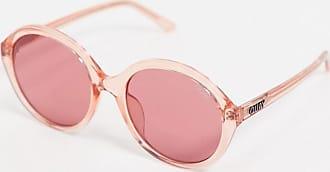 Quay Tinted Love - Occhiali da sole tondi rosa