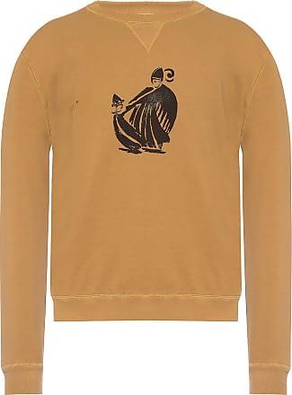 Lanvin Logo Sweatshirt Mens Brown