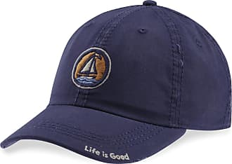 Life is good Sailboat Coin Sunwashed Chill Cap OS Darkest Blue