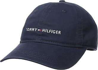 19284ad6b Tommy Hilfiger Mens Logo Dad Hat Cap, Tommy Navy, One Size