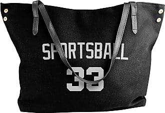 Juju Sportsball 33 Womens Classic Shoulder Portable Big Tote Handbag Work Canvas Bags