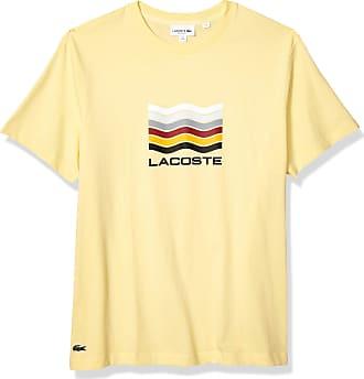 Lacoste Juniors Plain T-Shirt Yellow