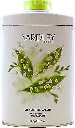 Yardley of London Perfumed Talc for Women, Lily of The Valley, 7 Ounce