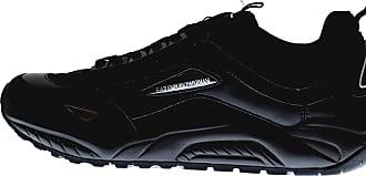 Emporio Armani EA7 Black Sneaker Trainer UK 6