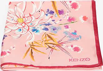 Kenzo Carré en soie Sea Lily
