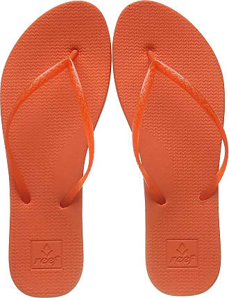 Reef Womens Escape Lux Flip Flops, Red (Flame Flm), 6 UK