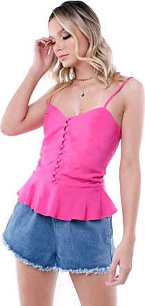 Pop Me Blusa Alça Botões Pop Me-pink-p