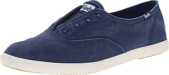 Keds Womens Chillax Laceless Slip on Sneaker Blue Size: 3.5 UK