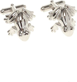 Lanvin Animal Motif Cuff Links Mens Silver