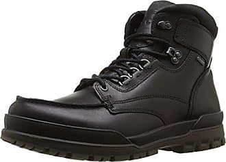 Ecco Mens Track 6 Gore-Tex Moc Toe High Winter Boot, Black, 45 EU/11-11.5 M US